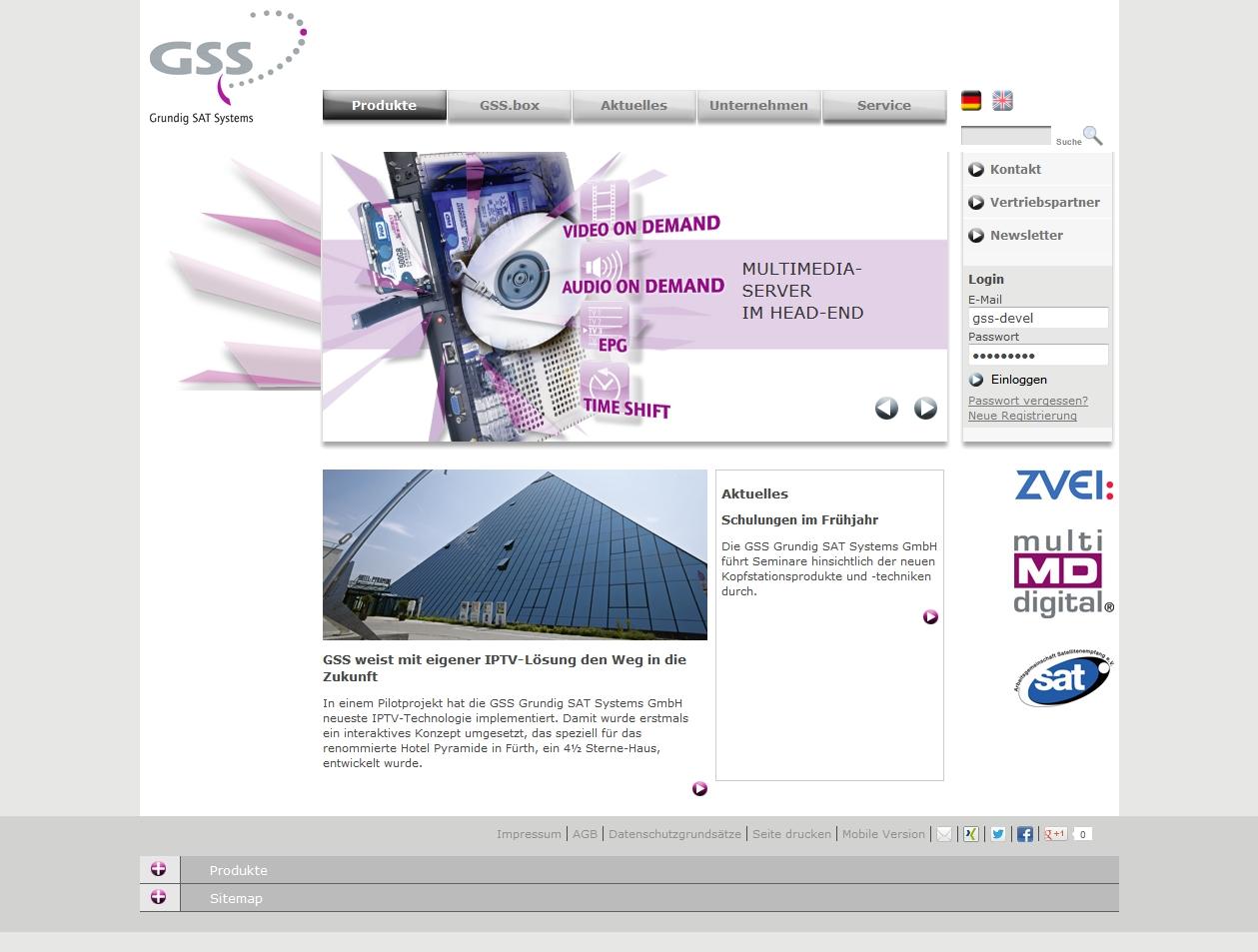 Grundig SAT Systems – gss.de
